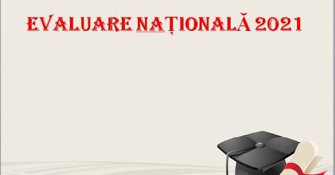 evaluare nationala logo
